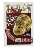 Down to Earth, Will Rogers, 1932 Psters