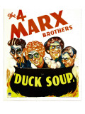 Duck Soup, Groucho Marx, Harpo Marx, Chico Marx, Zeppo Marx, 1933 Posters