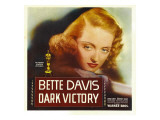 Dark Victory, Bette Davis on Window Card, 1939 Photo