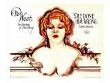 She Done Him Wrong, Mae West, 1933 Kunstdrucke