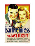 Last Flight, Richard Barthelmess, Helen Chandler, 1931 Photo