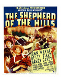 The Shepherd of the Hills, Harry Carey, Betty Field, John Wayne on Window Card, 1941 Photo