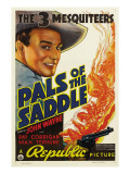 Pals of the Saddle, John Wayne, 1938 Poster