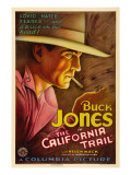 The California Trail, Buck Jones, 1933 Photo