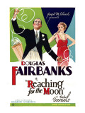 Reaching for the Moon, Douglas Fairbanks, Bebe Daniels, 1930 Prints