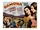 Ramona, Kent Taylor, Pauline Frederick, John Carradine, 1936 Posters