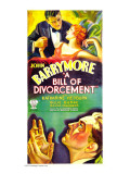A Bill of Divorcement, John Barrymore, Katharine Hepburn, 1932 Plakater