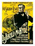Dr.Jekyll and Mr. Hyde, Sheldon Lewis, 1920 Kunstdruck
