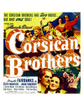 The Corsican Brothers, Akim Tamiroff, Douglas Fairbanks Jr., 1941 Posters