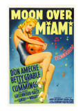 Moon over Miami, Betty Grable, 1941 Poster