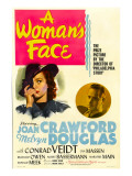 A Woman's Face, Joan Crawford, Melvyn Douglas, 1941 Prints
