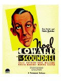 The Scoundrel, Noel Coward on Midget Window Card, 1935 Posters