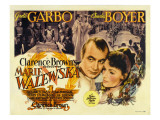 Conquest (Aka Marie Walewska), Top Center from Left: Charles Boyer, Greta Garbo, 1937 Prints