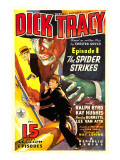 Dick Tracy, Ralph Byrd in 'Episode 1: the Spider Strikes', 1937 Posters