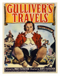Gulliver&#39;s Travels, Midget Window Card, 1939 Poster