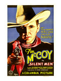 Silent Men, Tim Mccoy, 1933 Posters