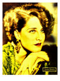 Norma Shearer on Portrait Poster, Jumbo Window Card, Ca. 1932 Photo