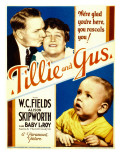 Tillie and Gus, W.C. Fields, Alison Skipworth, Baby Leroy on Midget Window Card, 1933 Láminas