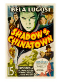 Shadow of Chinatown, Top Center: Bela Lugosi, 1936 Poster
