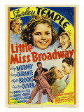 Little Miss Broadway, Edna May Oliver, Shirley Temple, Jimmy Durante, 1938 Print