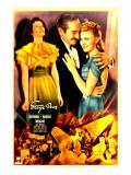 Stage Door, Katharine Hepburn, Adolphe Menjou, Ginger Rogers, 1937 Posters
