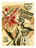 Madame Satan, Kay Johnson on Window Card, 1930 Photo