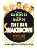 The Big Shakedown, Allen Jenkins, Glenda Farrell, Charles Farrell, Bette Davis, 1934 Photo
