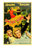 Swing Time, Ginger Rogers, Fred Astaire, Fred Astaire, Ginger Rogers, 1936 Psters