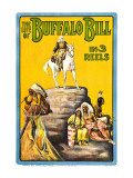 Life of Buffalo Bill, Early Documentary of the Legendary Westerner, 1912 Photo