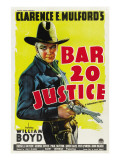 Bar 20 Justice, William Boyd, 1938 Prints