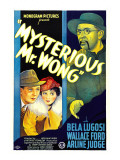 Mysterious Mr. Wong, Wallace Ford, Arline Judge, Bela Lugosi, 1935 Photo