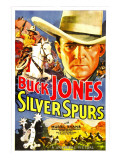 Silver Spurs, Buck Jones, 1936 Print