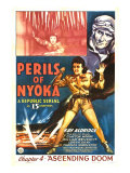 Perils of Nyoka, Kay Aldridge, Clayton Moore, 1942 Affiches