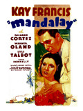 Mandalay, Kay Francis, Ricardo Cortez, 1934 Photo