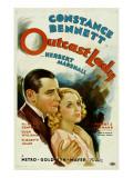 Outcast Lady, Herbert Marshall, Constance Bennett, 1934 Poster