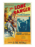 The Lone Ranger, Lee Powell,, Chief Thundercloud, in 'Episode 3: the Pitfall', 1938, Serial Posters