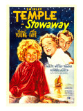 Stowaway, Shirley Temple, Alice Faye, Robert Young, 1936 Print