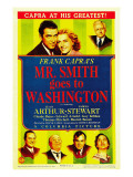 Mr. Smith Goes to Washington, James Stewart, Jean Arthur, 1939 Photographie