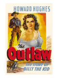 The Outlaw, Jack Buetel, Jane Russell, 1943 Posters