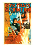 Dick Tracy Vs. Crime Inc., Front: Ralph Byrd in 'Chapter 1: the Fatal Hour', 1941 Photographie