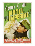 Hotel Imperial, Isa Miranda, Ray Milland, 1939 Photo