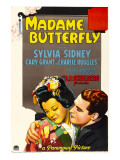 Madame Butterfly, Sylvia Sidney, Cary Grant, 1932 Posters
