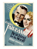 Reaching for the Moon, Douglas Fairbanks, Bebe Daniels, 1930 Photo