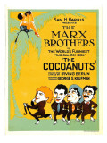 The Cocoanuts, the Marx Brothers, 1929 Pósters
