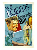 Ambassador Bill, Top Center: Will Rogers, 1931 Prints