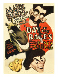 Day at the Races, the Marx Brothers, 1937 Julisteet