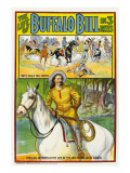 The Life of Buffalo Bill, Poster Art, 1912 Photo