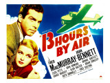 Thirteen Hours by Air, Fred Macmurray, Joan Bennett, 1936 Posters