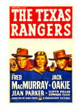 The Texas Rangers, Fred Macmurray, Jean Parker, Jack Oakie, 1936 Posters
