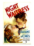 Night Waitress, Margot Grahame, Gordon Jones, 1936 Poster